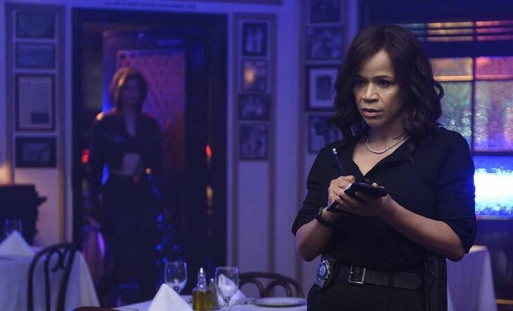 ROSIE PEREZ as Renee Montoya