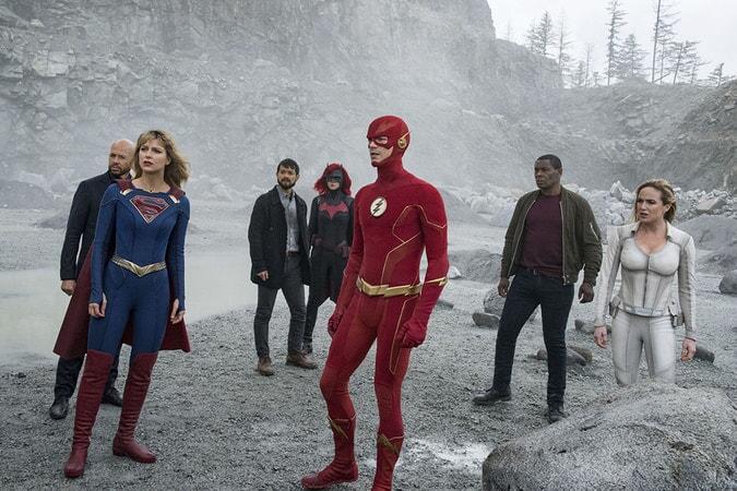 Crisis on Infinite Earths Warner Bros UK DC Supergirl Flash