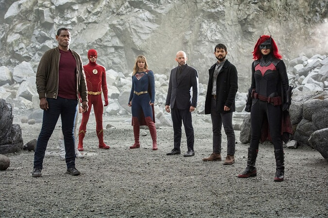 Crisis on Infinite Earths Warner Bros UK DC