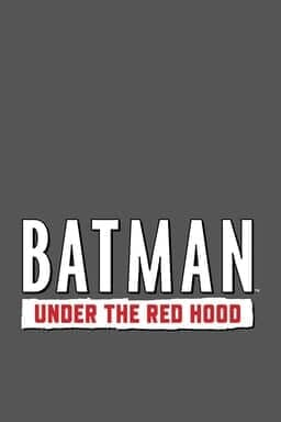 Batman: Under the Red Hood - Key Art