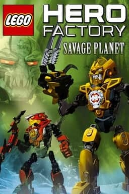 LEGO® Hero Factory Savage Planet - Key Art