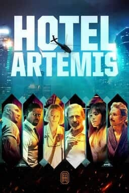 Hotel Artemis - Key Art
