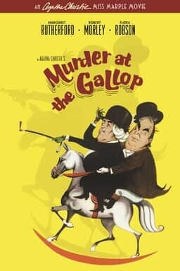 Murder at the Gallop - Key Art