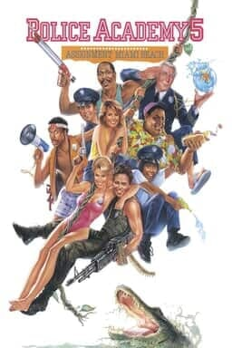 Police Academy 5: Assignment Miami Beach - Key Art