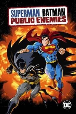 Superman / Batman: Public Enemies - Key Art