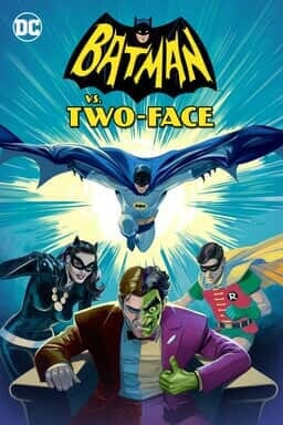 Batman Vs Two Face - Key Art