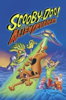 Scooby-Doo! And The Alien Invaders - Key Art