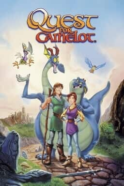 Quest for Camelot - Key Art