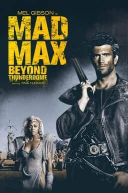 Mad Max Beyond Thunderdome - Key Art