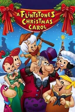 A Flintstones Christmas Carol - Key Art