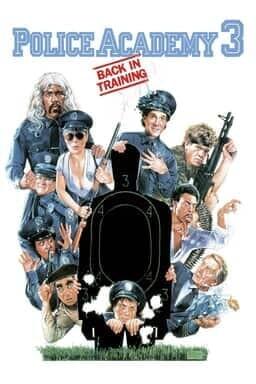 Police Academy 3: Back in Training - Key Art