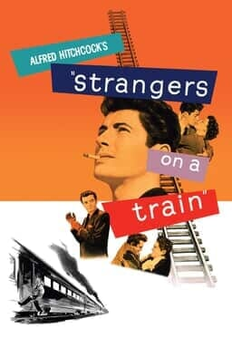 Strangers on a Train - Key Art