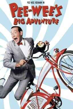 Pee-Wee's Big Adventure - Key Art