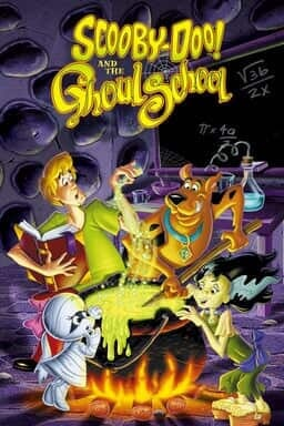 Scooby-Doo! And The Ghoul School - Key Art
