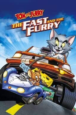 Tom And Jerry: The Fast and the Furry - Key Art