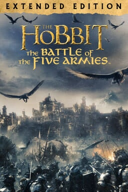 The Hobbit: Battle of the Five Armies (Extended Edition) - Key Art