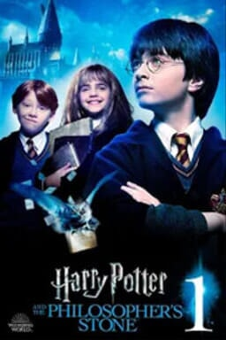 Harry Potter & The Philosopher's Stone  - Key Art