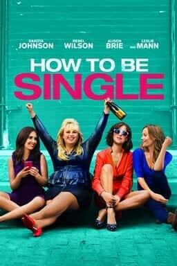 how to be single key art
