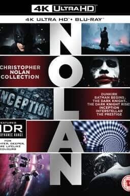 Christopher Nolan 7-Film Collection  - Key Art