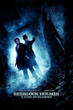 Sherlock Holmes A Game of Shadow Keyart Warner Bros UK