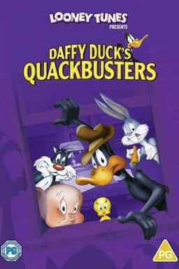 Daffy Duck's Quackbusters - Key Art
