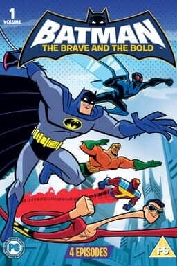 Batman The Brave And The Bold - Key Art