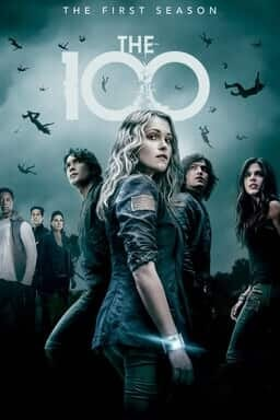 The 100 - Key Art