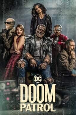 Doom Patrol Keyart Season 1 DC Warner Bros UK