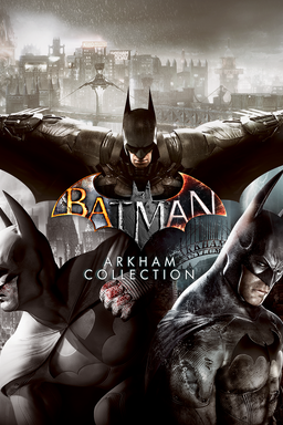 batman arkham collection key art