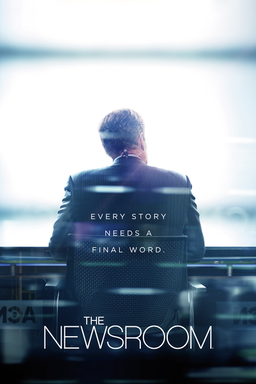 the newsroom key art