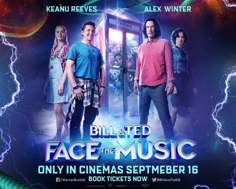 Bill & Ted Face the Music most joyous month