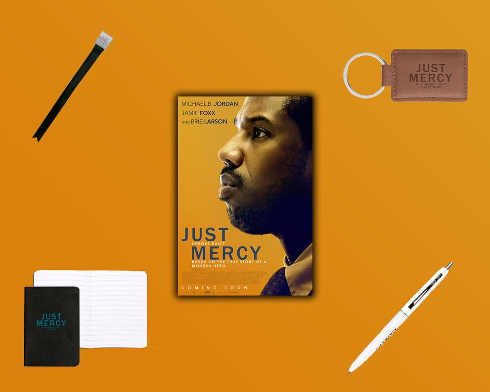 Just Mercy Prize Bundle Competition Warner Bros UK